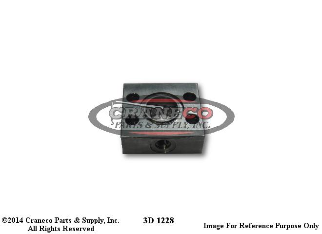 3D 1228 Link-Belt Block ManifoldLink-Belt Crane