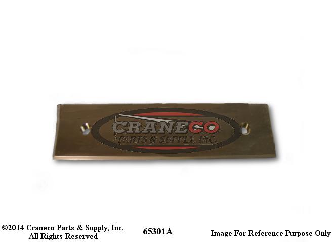 65301A Galion Bronze Wear PadGalion Crane
