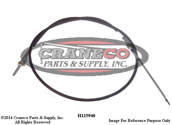 H125940 Galion Control CableGalion Crane