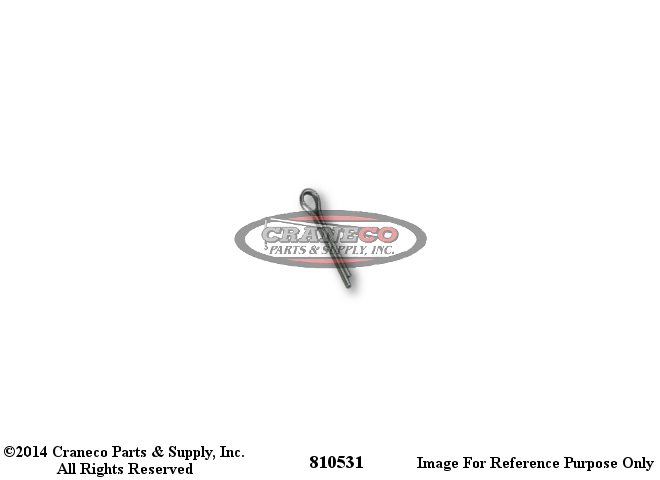 810531 American Cotter PinAmerican Crane