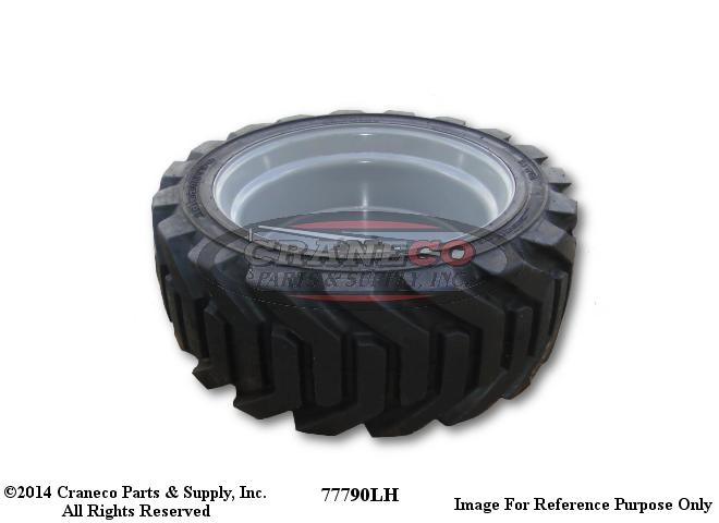 77791 Genie LH Tire & Wheel With FoamGenie Manlift