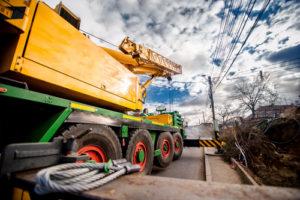truck crane parts