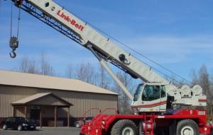 link belt crane