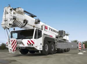 telescopic truck crane