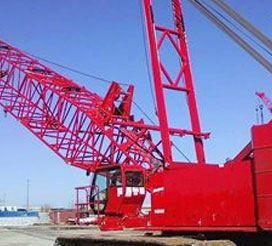 Lattice Boom Crawler Cranes